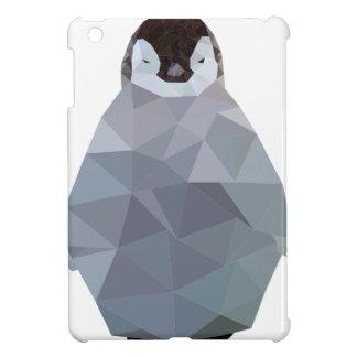 Geometric Baby Penguin Print Cover For The iPad Mini