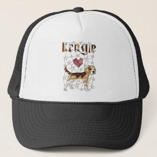 Geometric Beagle Trucker Hat