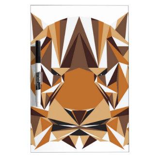 Geometric Bear Dry Erase Board
