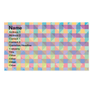 Geometric Beauty Pack Of Standard Business Cards