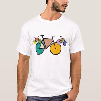 Geometric Bicycle Art T-Shirt