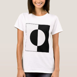 Geometric Black Withe T-Shirt
