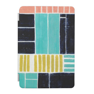 Geometric Blocks iPad Mini Cover