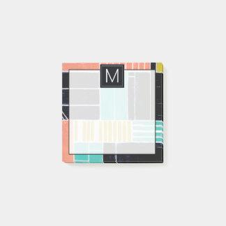 Geometric Blocks Post-it Notes