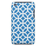 Geometric Blue iPod Touch G4 Case