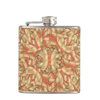 Geometric Bold Cubism Pattern Flasks