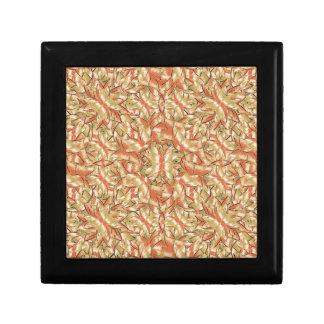 Geometric Bold Cubism Pattern Small Square Gift Box