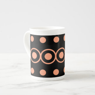 Geometric Bubbles Tea Cup