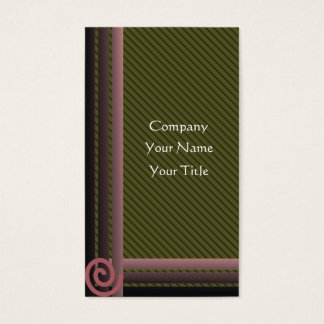Geometric Business Gards Business Card