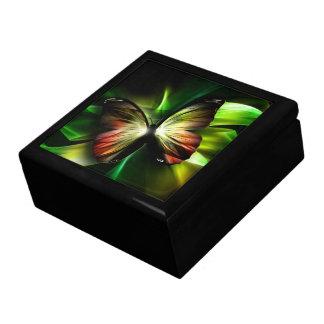 Geometric Butterfly Trinket Box