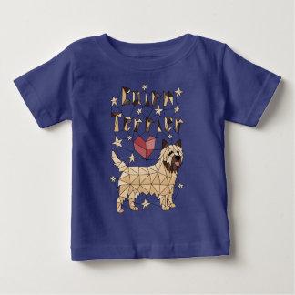 Geometric Cairn Terrier Baby T-Shirt