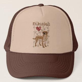 Geometric Chihuahua Trucker Hat