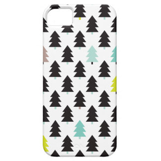 Geometric christmas tree abstract holidays print iPhone 5/5S cover