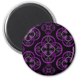 Geometric Circle 6 Cm Round Magnet