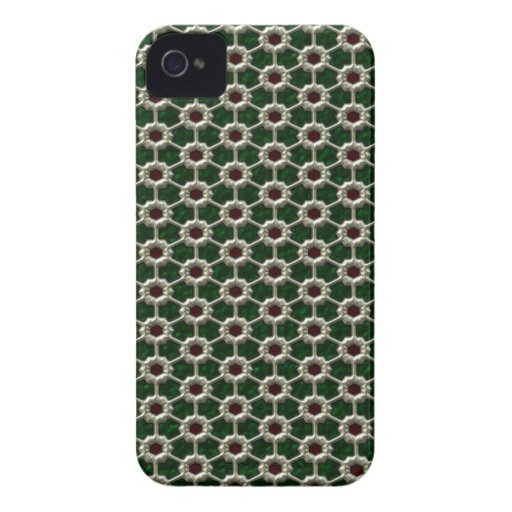 Geometric Connection abstract Blackberry Case