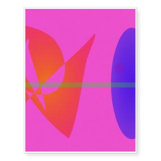 Geometric Contrast Pink