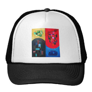 Geometric Counterpoint (geometric expressionism) Mesh Hats