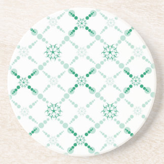 Geometric Crop Circle Coasters