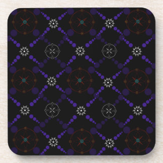 Geometric Crop Circles Coasters