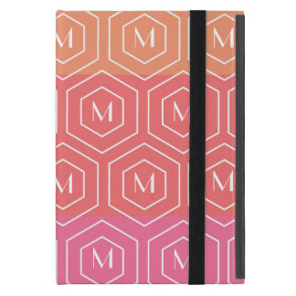 Geometric Custom Monogram Mini iPad Case