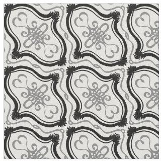 Geometric Damask Personalizable pattern Fabric