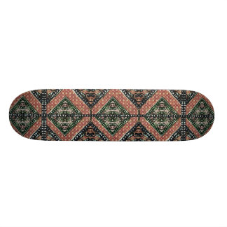 Geometric Decorative Motif Skateboards