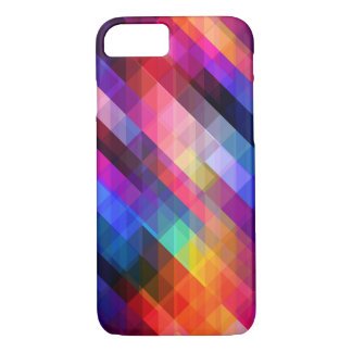 Geometric Design iPhone 7 Case - Multi Coloured