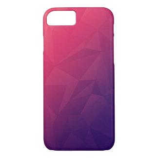 Geometric Design iPhone 7 Case - Pink/Purple