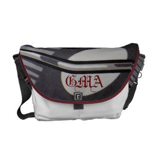 Geometric design messenger bags