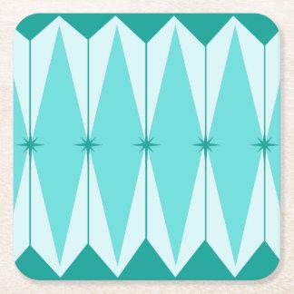 Geometric Diamonds & Starbursts Paper Coasters