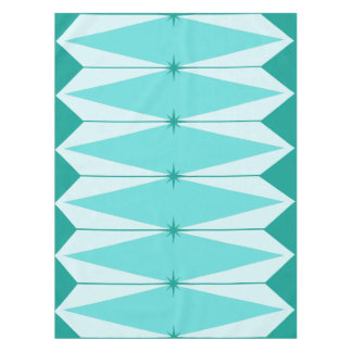 Geometric Diamonds & Starbursts Tablecloth