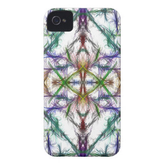 Geometric drawing on white background iPhone 4 covers