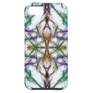 Geometric drawing on white background iPhone 5 case