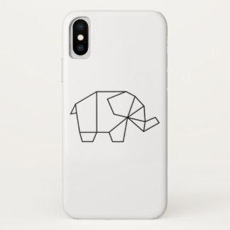 Geometric Elephant Phone Case