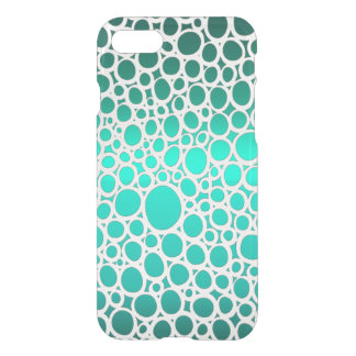 Geometric Emerald Circles Bohemian-Style iPhone 8/7 Case