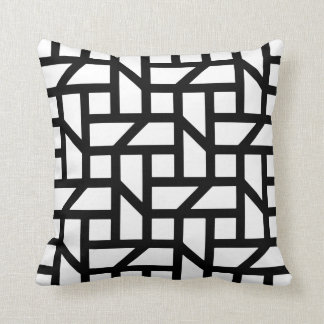 Geometric fashion for the home cushion