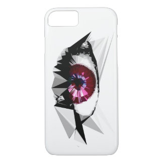 Geometric Female Eye Design iPhone 7 Case