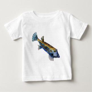 Geometric Fish Baby T-Shirt