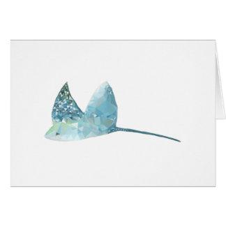 Geometric Fish Card