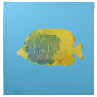 Geometric Fish Napkin