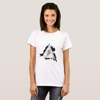 Geometric Floral T-Shirt