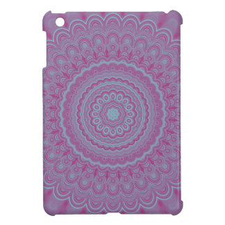 Geometric flower mandala case for the iPad mini