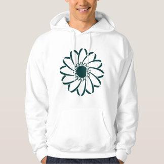 Geometric Flower Pullover