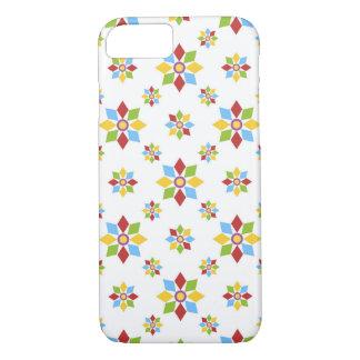 Geometric flowers pattern iPhone 7 case