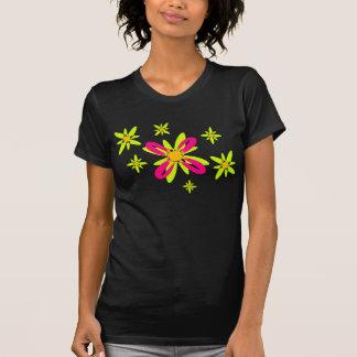 Geometric Flowers Shirt