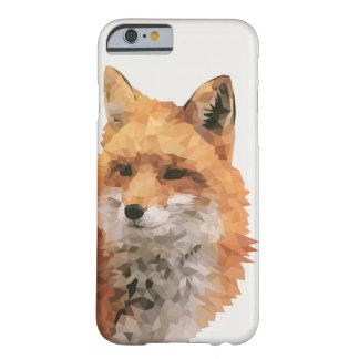 Geometric Fox Barely There iPhone 6 Case
