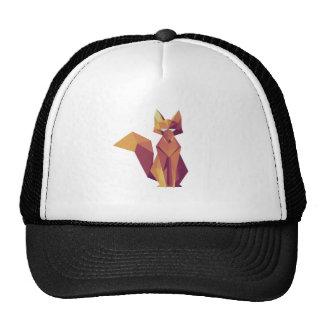 Geometric Fox Hat