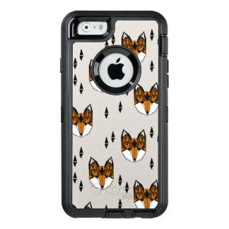 Geometric Fox Head / Grey Neutral / Andrea Lauren OtterBox iPhone 6/6s Case