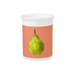 Geometric Fruit Pitcher