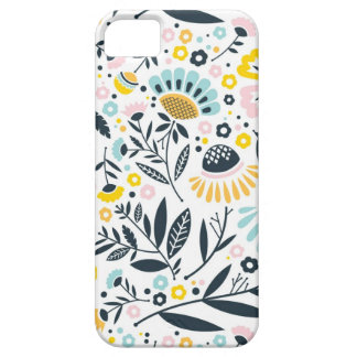 Geometric Garden Floral Pastel Pattern iPhone 5 Covers